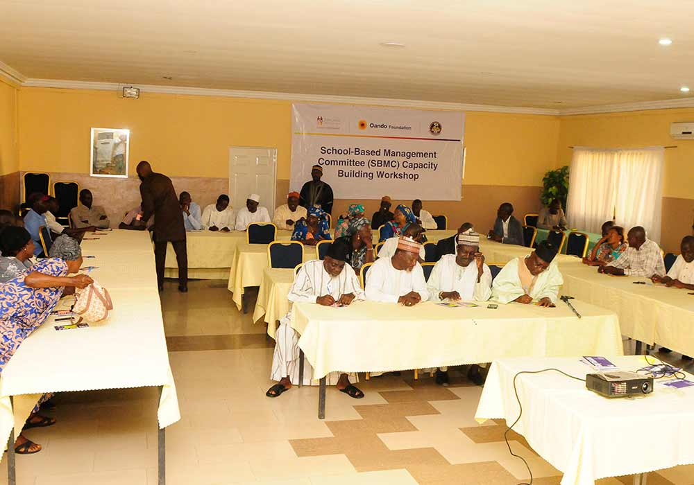 Community Engagement- School Based Management Committees (SMBCs)