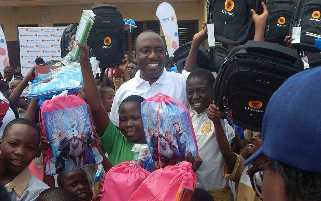 Oando Reinforces Commitment to Education: Employees Donate School Supplies to Gbagada Public Schools