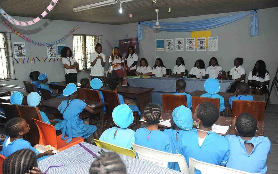 Oando Female Engineers Mentor Female Pupils in Celebration of International Day of Women in Science